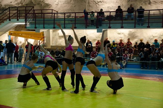 Dansere fra skole-13 i Murmansk